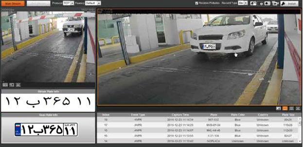 سیستم پلاک خوان خودرو