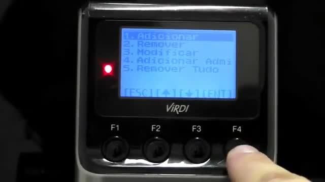 کنترل تردد Virdi AC2100H