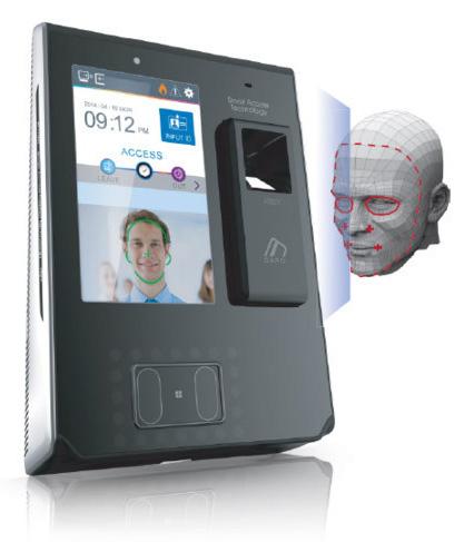تشخیص چهره Virdi AC7000